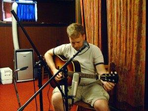 jon itkin in the studio