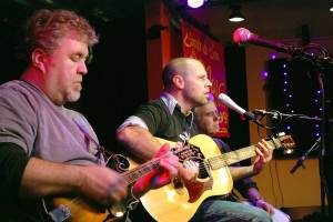 mandolin with jd at puck in doylestown