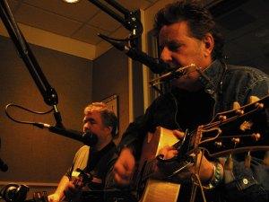 robert and i on scott birneys' radio show