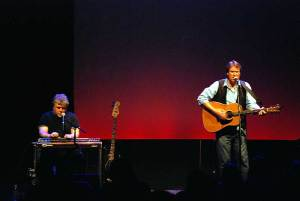 onstage with blake allen at sellersville
