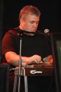 """playing pedal steel behind nik everett on """"bound"""""""