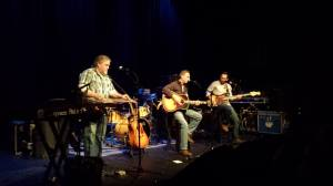 onstage with Skip Denenberg and Dan Faga in Sellersville, 2013.