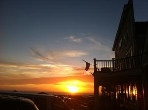 mendocino sunset....